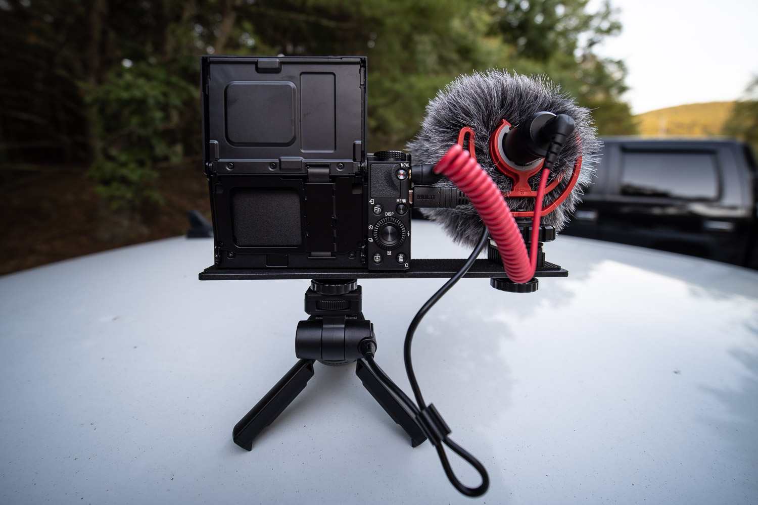 Sony RX100 VII Vlogging set-up