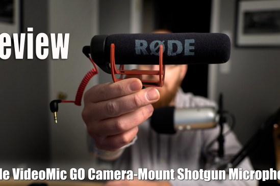 Rode VideoMic GO Shotgun Microphone Review