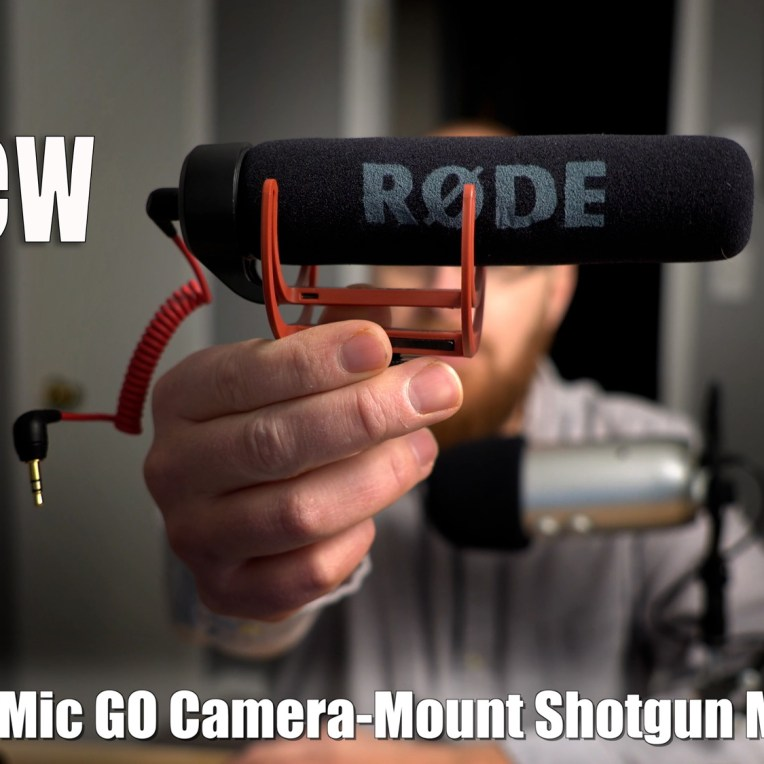 Rode VideoMic GO Shotgun Microphone Review
