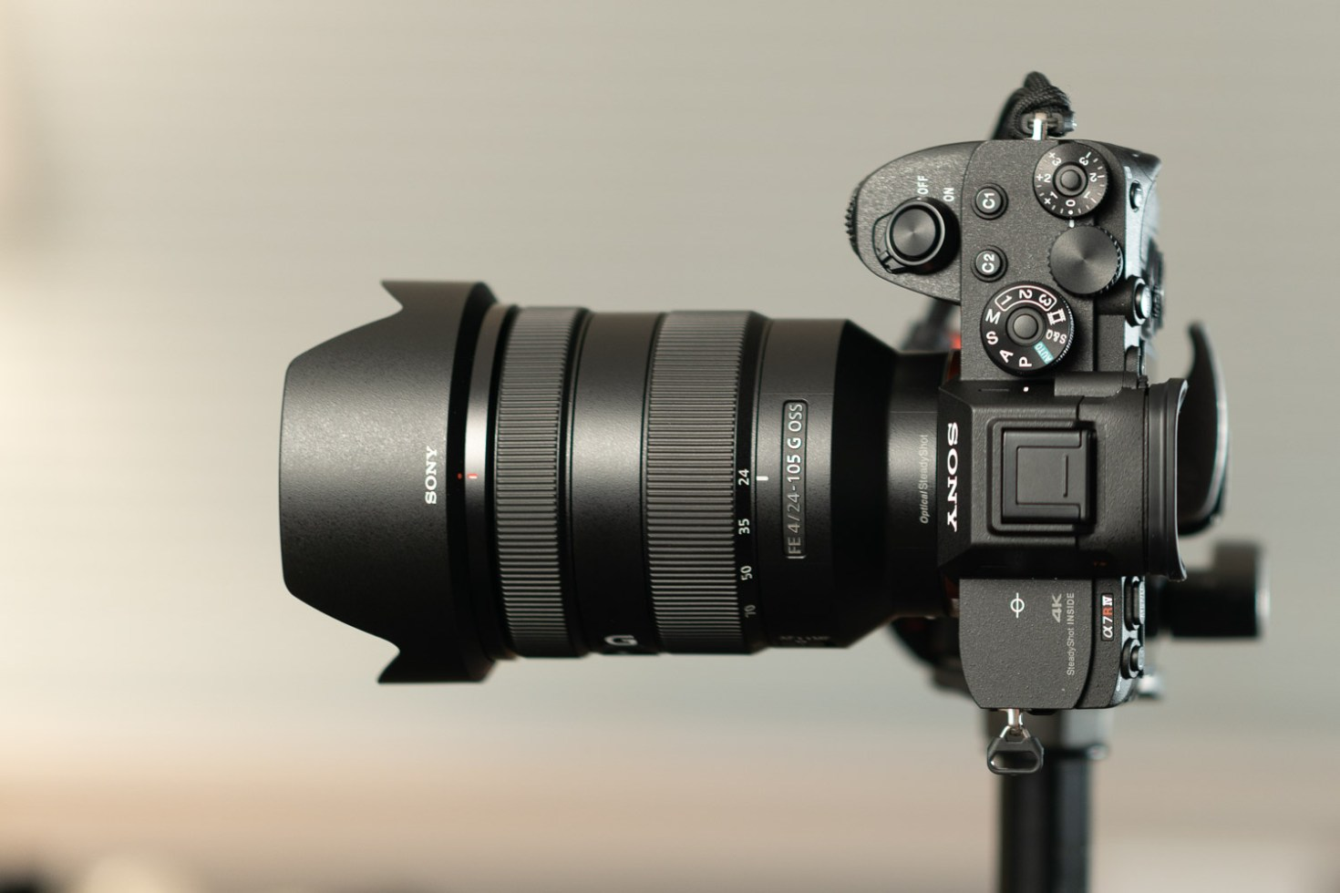 Sony FE 24-105mm F/4 G OSS Lens  @ 24mm - Lab Testing with Sony A7R IV