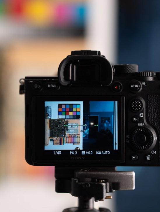 Sony FE 24-105mm f/4 G OSS Lens - Lab Testing