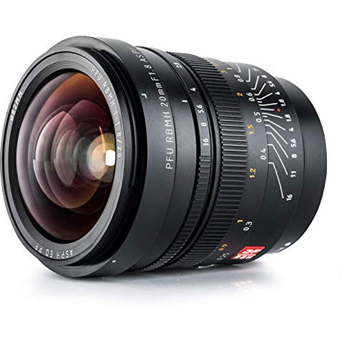 Viltrox PFU RBMH 20mm f/1.8 ASPH Lens