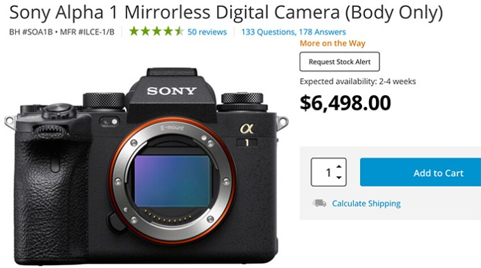 Reports about Sony A1 issues – sonyalpharumors