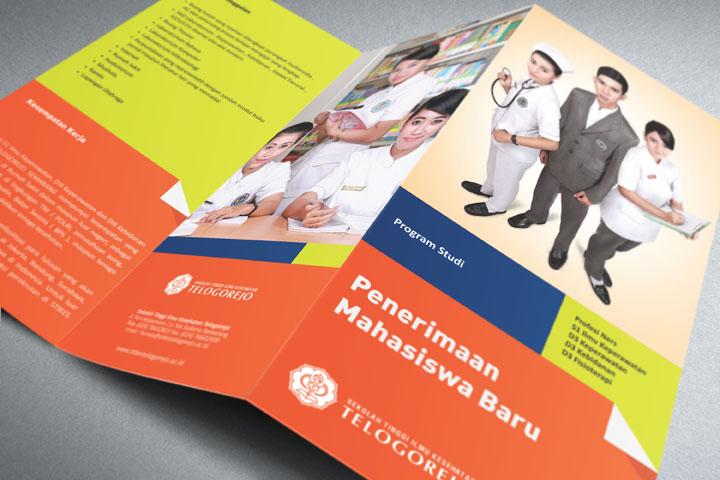 Jasa Desain Brosur untuk Sekolah Tinggi / Akademi / Universitas