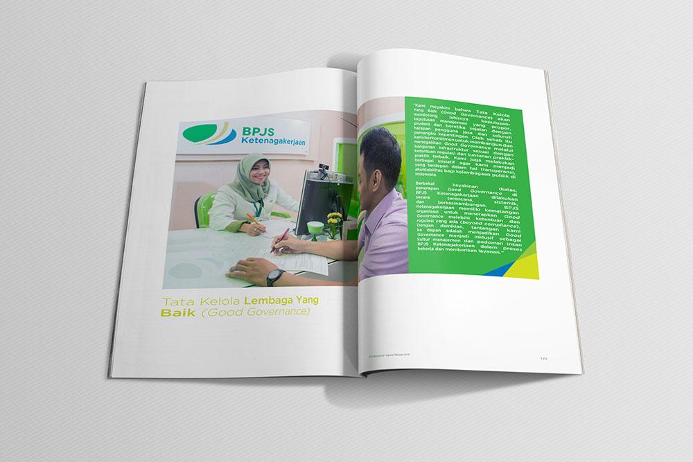 Pembuatan Desain Annual Report Dana Pensiun