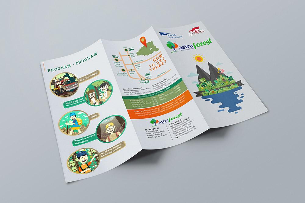 Brosur Peta infografis lokasi astra forest-upload