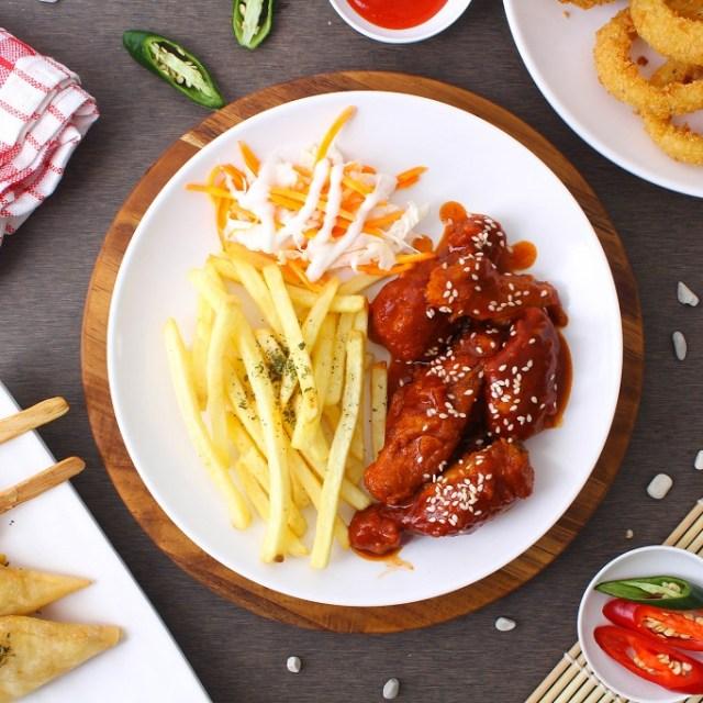 Jasa Fotografi Makanan Kafe Dontea (French Fries)