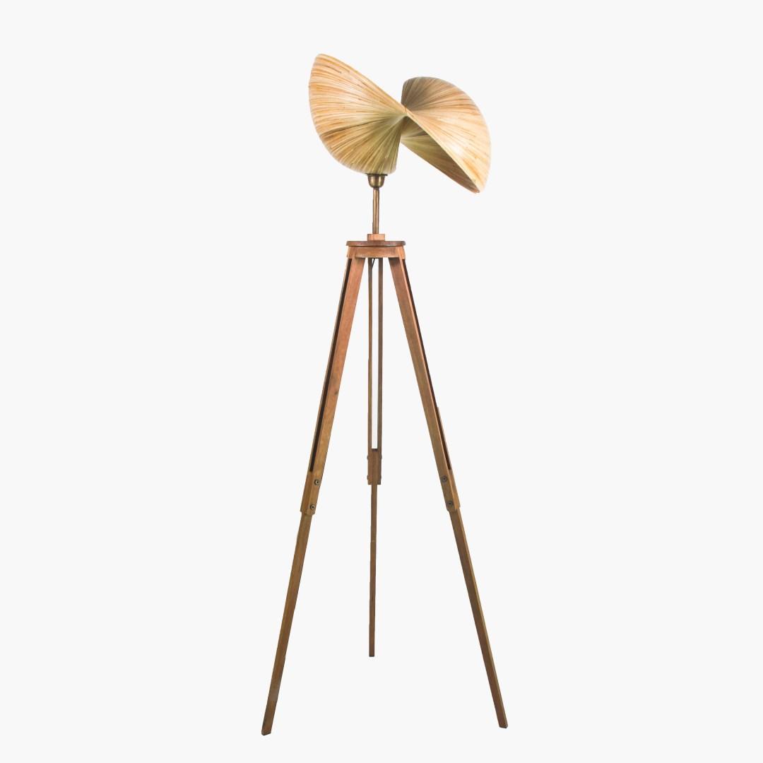 Sooka Bambusa Bamboo Design Lamps Kirana Tripod 50