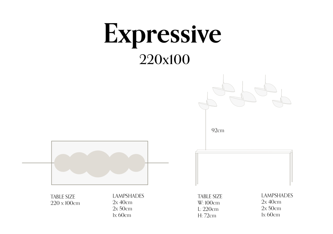 Expressive 220x100