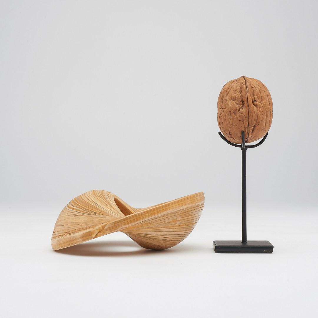 bamboo napkin ring set