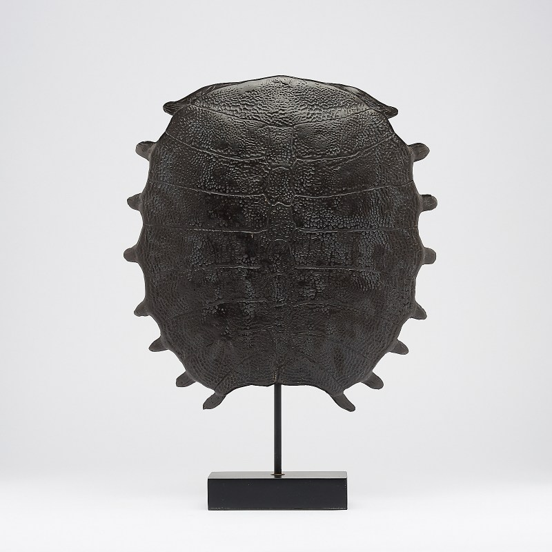 large bronze Turtle Shell