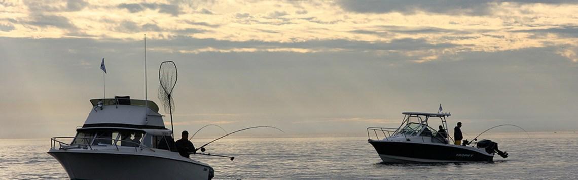 Fishing in Sooke