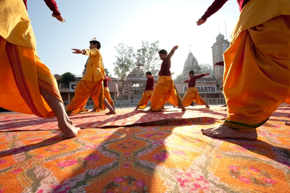 The 5 Most Sacred Places to Practice Yoga