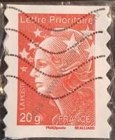 Sello Francia 2011 Marianne Beaujard