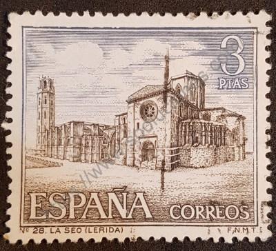Sello España 1966 Catedral de Seo