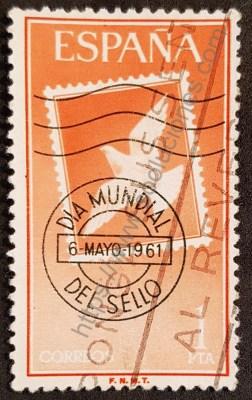 Día mundial del sello España 1961