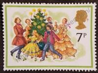 navidad sello inglaterra 1978