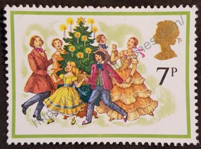 Sello Navidad Reino Unido 1978