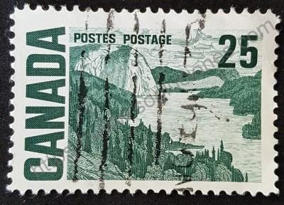 Estampilla Canadá 1967 Centenario I