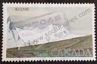 sello canada 1979 parque Kluane