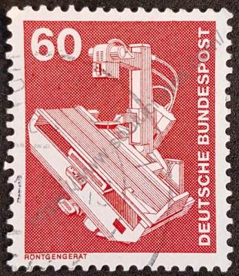 Alemania sello de 1978 rayos X