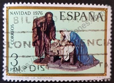 Navidad España 1976 Natividad