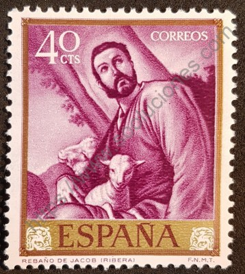 El rebaño de Jacob - José de Ribera Sello 1963