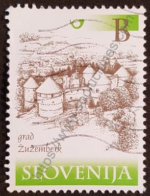 Castillo Zuzemberk Eslovenia sello año 2000