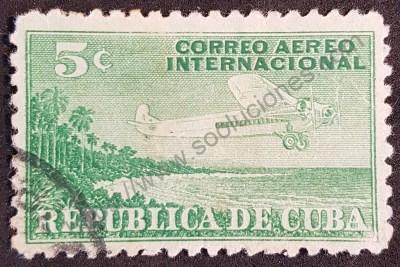 Sellos de Cuba Avión 1931