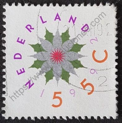 Estampilla navidad 1992 Holanda - Países Bajos