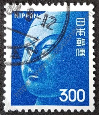 Buda estampilla Japón 1974