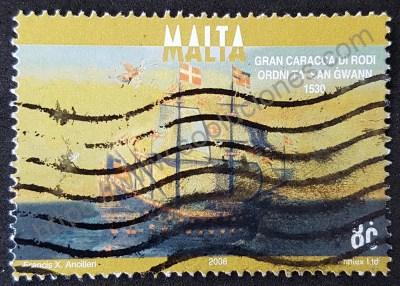 Sello navío Santa Anna Carraca de Rodas
