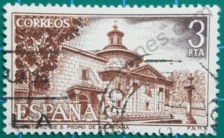 Sello de España 1976 3 Pta. – Monasterio San Pedro de Alcántara