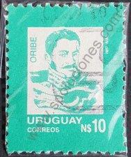 Sello: Manuel Oribe Uruguay 1989
