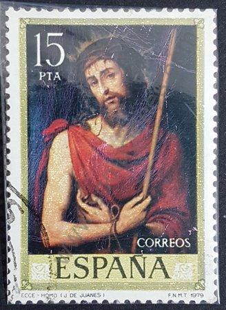 Sello España 1979 15 Pta – Ecce Homo de Juanes