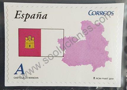 Sello Autonomías España 2010 Castilla la Mancha