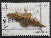 Sellos España Juguete Submarino 2008