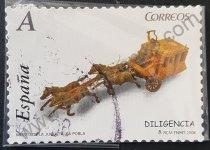 Sellos España 2008 Diligencia