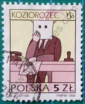 Sello Polonia 1996 Capricornio
