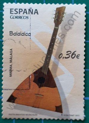 Sellos España 2012 Balalaika