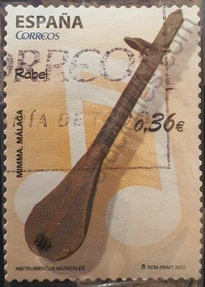 Sello España 2012 Rabel