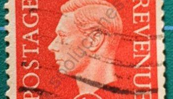 Sello Reino Unido 1937 Rey George VI 1D