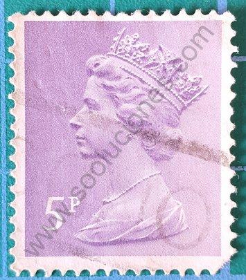 Sello Reino Unido 1979 Elizabeth II 1p