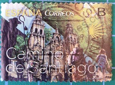Sello Camino de Santiago - España 2016