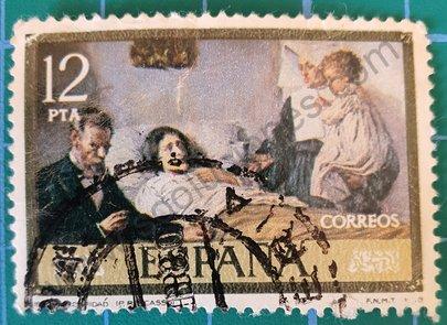 Pintura Ciencia y Caridad - Sello España 1978