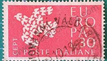 Sello C.E.P.T. Palomas - Italia 1961