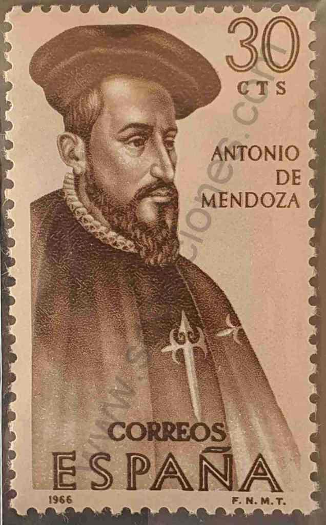 Antonio de Mendoza - Sello España 1966