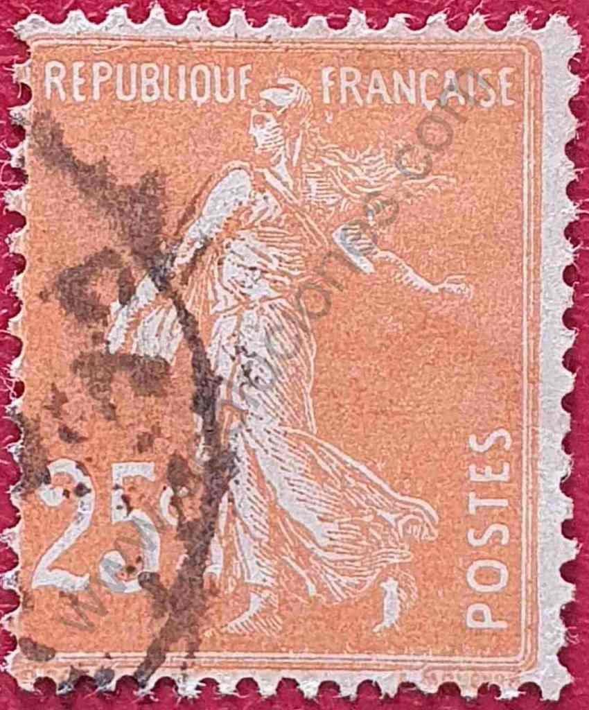 Sembrador 25c 1927 - Sello de Francia