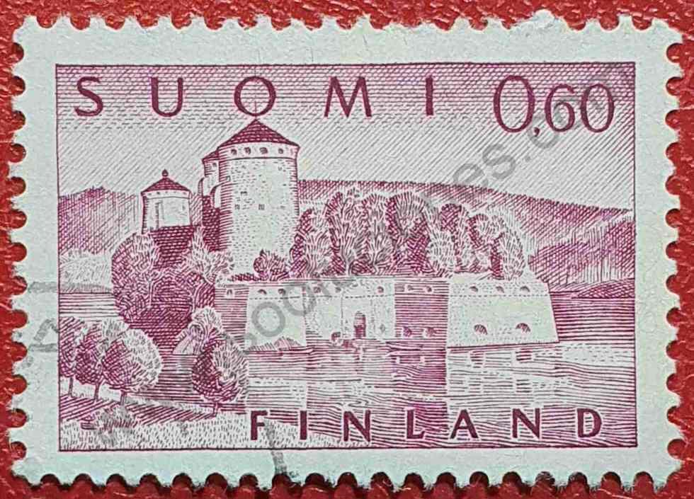 Fortaleza Olavinlinna - Sello Finlandia 1963