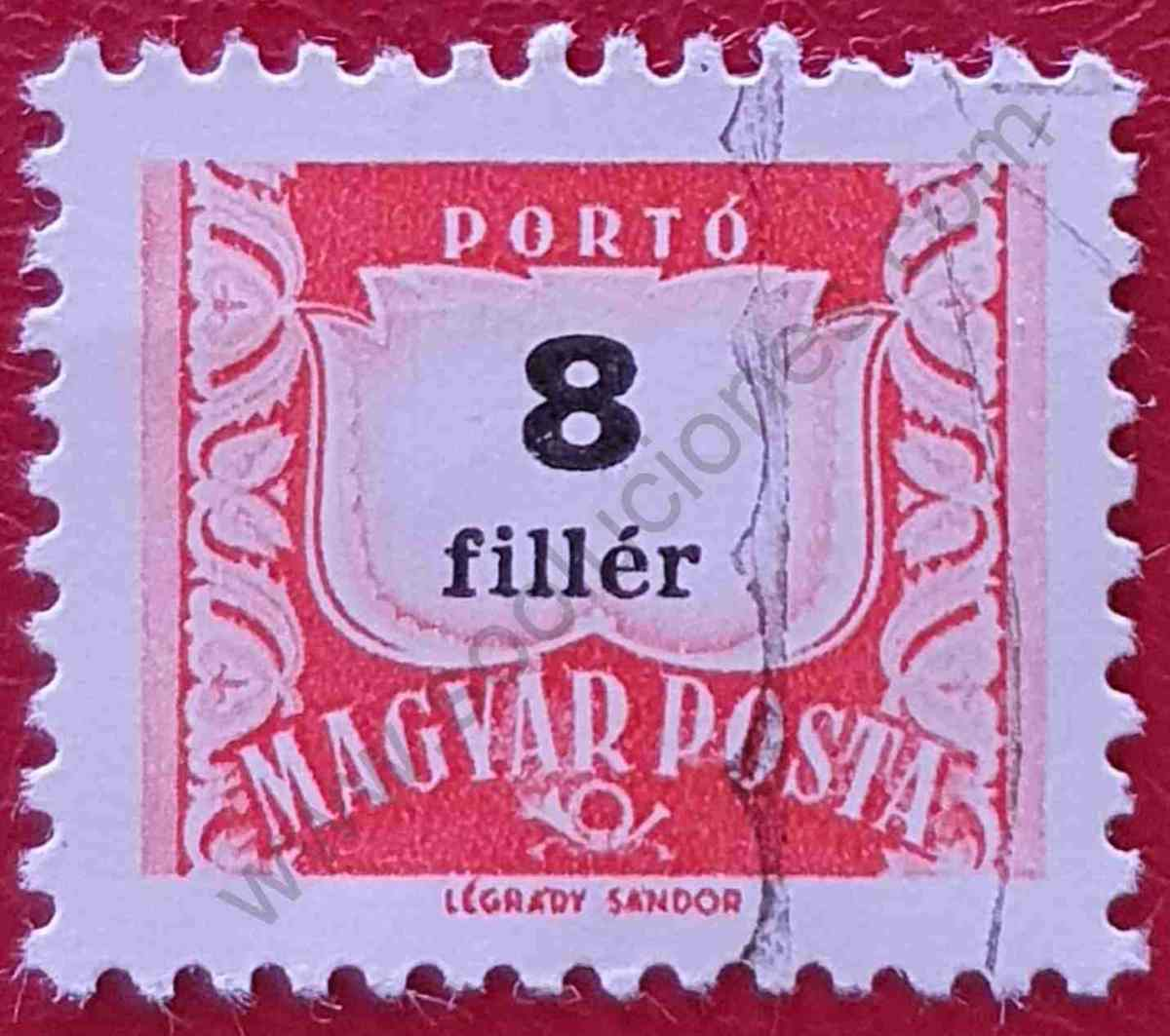 Número 8 - Sello Hungría 1965